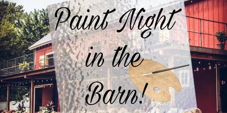 Painting in the Barn June 19th 2019 tickets