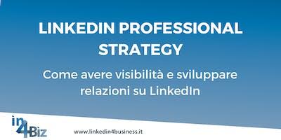 Corso LinkedIn Professional Strategy 2019 APRILE