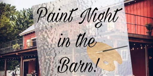 Painting in the Barn August 21 2019