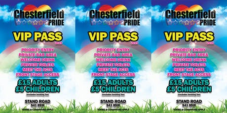 Chesterfield Pride VIP 2019 tickets