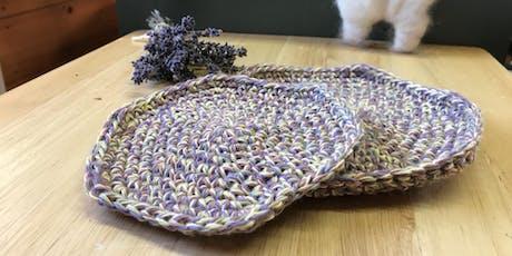 Fiber Studio Classes: Learn to Knit, Crochet, Needle Felt & Spin tickets