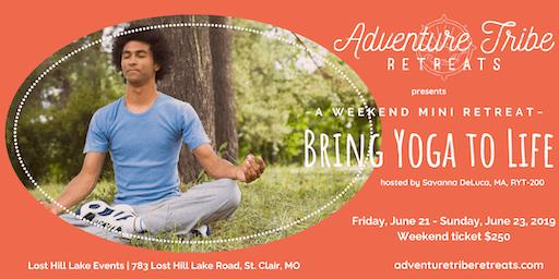 Bring Yoga to Life - Mini Retreat