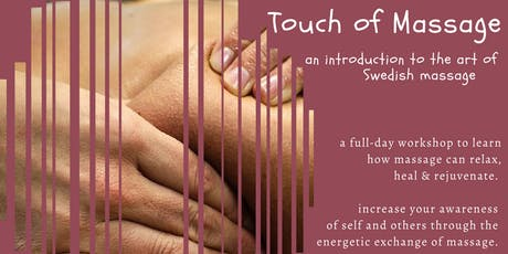 Touch of Massage tickets