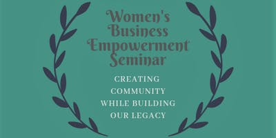 Women's Business Empowerment Seminar