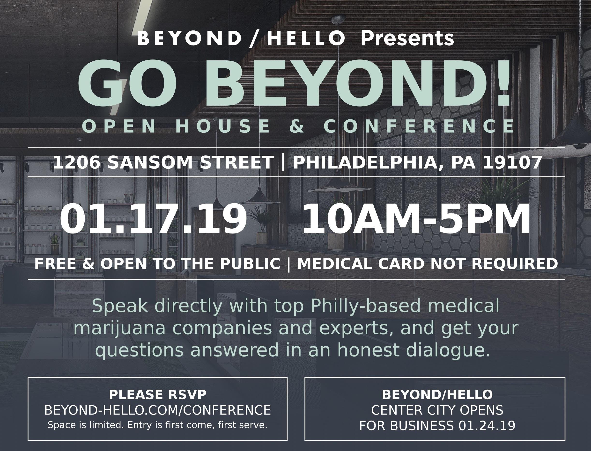 GO BEYOND! Medical Cannabis Conference and Di