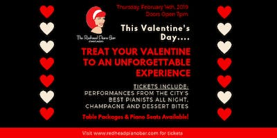 Valentine's Day at The Redhead Piano Bar