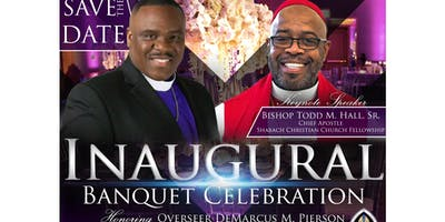 Inaugural Banquet Celebration honoring Overseer DeMarcus Pierson