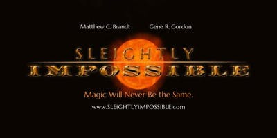 Sleightly Impossible Magic and comedy show