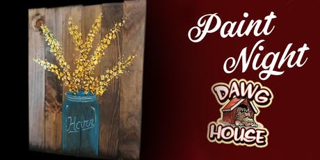 Paint Event The Dawg House tickets