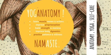 YogAnatomy! Self Care for the Upper Body (Neck, Shoulders, & Spine) tickets