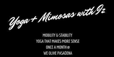 Yoga + Mimosas with Iz