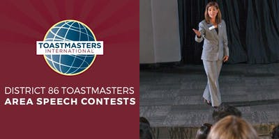 Area 33 International Speech and Evaluation Contest
