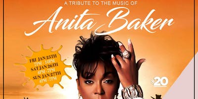 Tribute to Anita Baker!