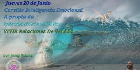 Cursillo Inteligencia Emocional A-propia-da Introductorio al Taller Vivir Relaciones de Verdad entradas