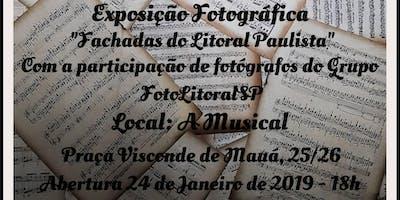 Exposição Fachadas do Litoral Paulista