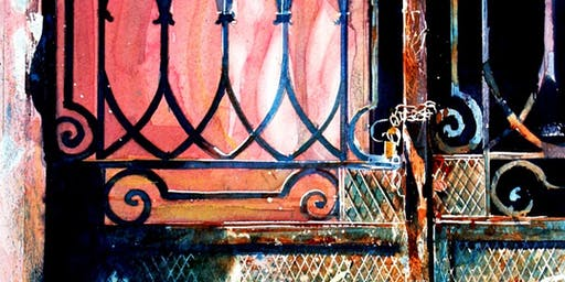 David Poxon RI - Pure Watercolour Workshop (Expression of Interest)