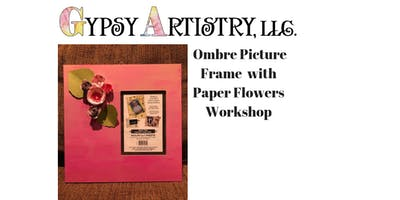 Paper Flower Picture Frame Workshop