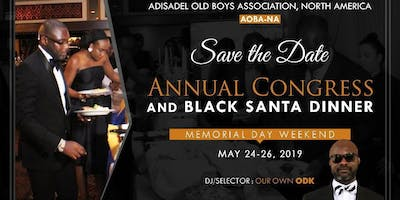 Black Santa And Fundraising Dinner Dance 2019