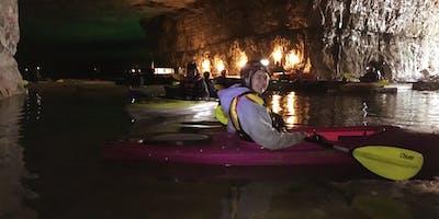 Cave Kayaking and Camping