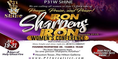 P31W SHINE IRON SHARPENS IRON WOMEN'S CONFERENCE