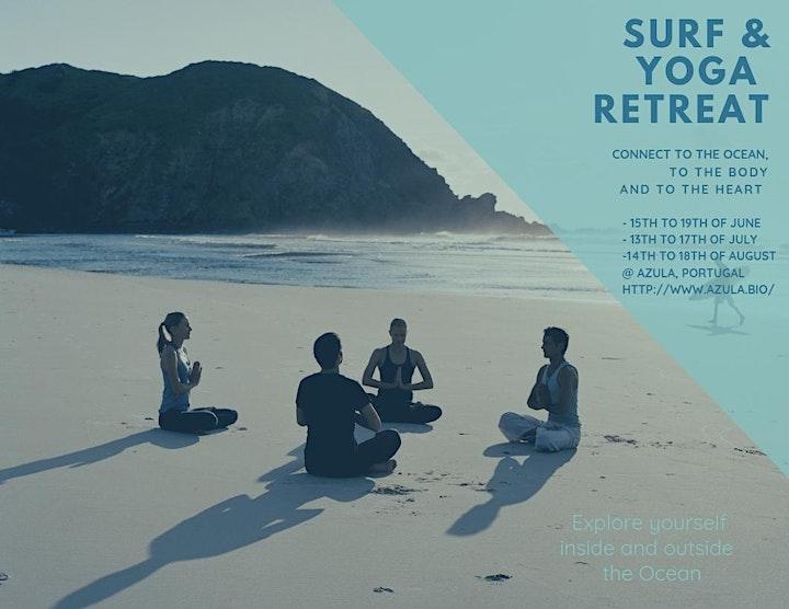 Surf & Yoga Retreat @ Azula 15th June until 19th June 2019 image