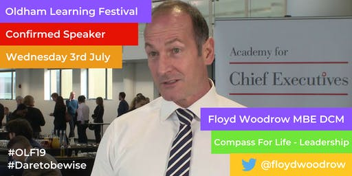 OLF19 Day 3: Day session for Years 9 & 10 pupils only | Floyd Woodrow - Preparing the leaders of tomorrow