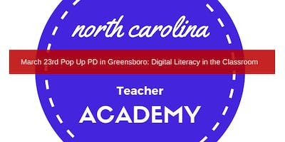 Digital Literacy in the Classroom (9-3 p.m.)
