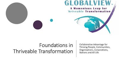 Foundations in Thriveable Transformation Webinar Series 2019- Free Overview