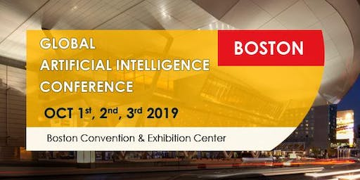 Group tickets for Global Artificial Intelligence Conference Boston October 2019