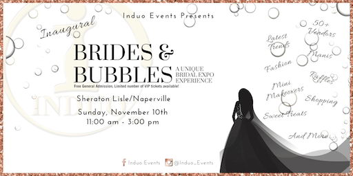 Induo's Inaugural Brides & Bubbles Expo!