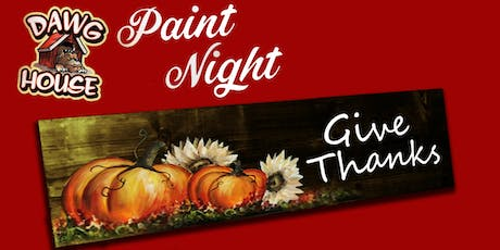 Dawg House Paint Event tickets