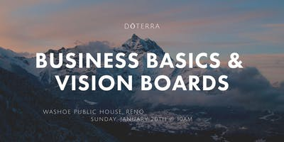 Business Basics + Vision Boards!