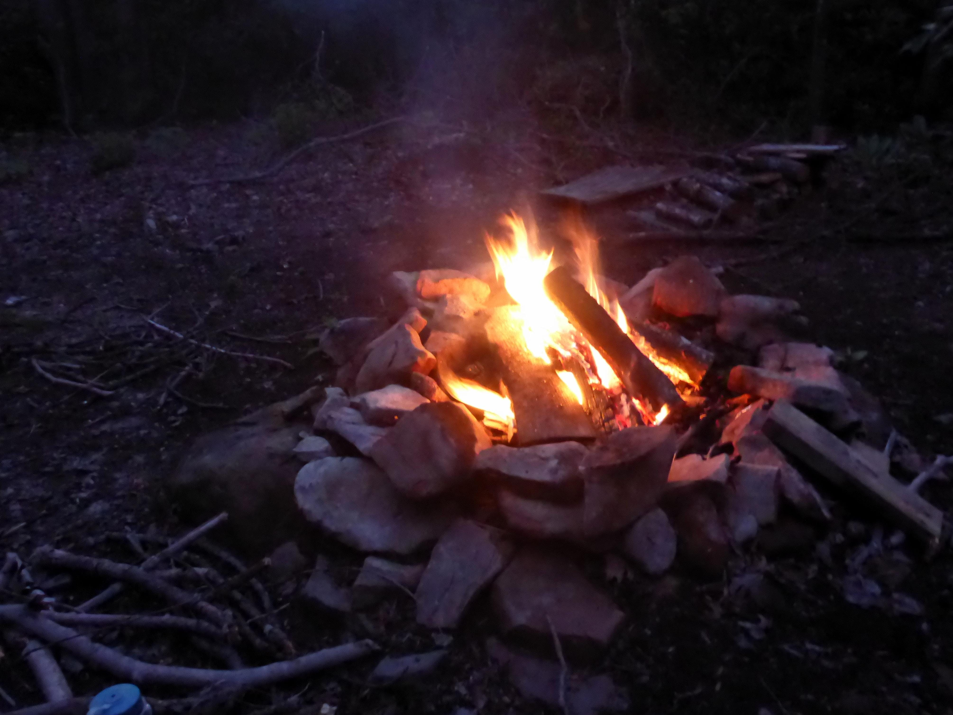 How To Build a Fire and Cook Over It