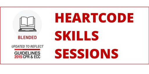 HeartCode Skills Sessions (BLS, ACLS, PALS)