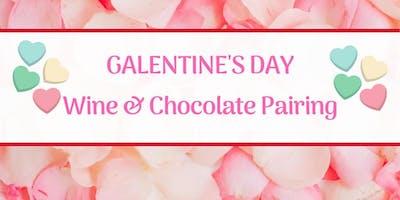 Galentine's Day Wine & Chocolate Pairing