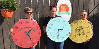 Farmhouse Clock Workshop