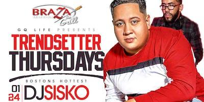 GQ LIFE Presents Trendsetter Thursday's - Boston Hottest Dj Sisko along Side FSU Hottest Dj Ruckus