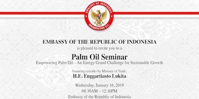 Palm Oil Seminar