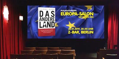 """7. Europa Salon mit Georg Diez """"Das andere Land"""""""