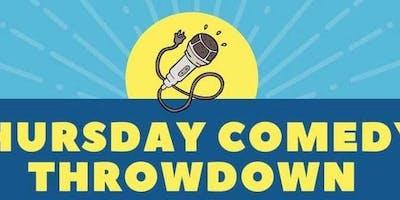 Thursday Comedy Throwdown