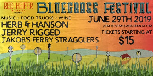 Red Heifer Winery's Bluegrass Festival