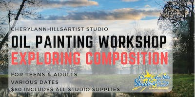 Oil Painting Workshop in Hamilton - EXPLORING COMPOSITION