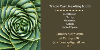 Oracle Card Reading Night