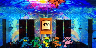 "420 CELEBRATION @ ODD FELLOWS HALL ""THE FOOTHILL FILLMORE""  MAD ALCHEMY LIGHTING AND SOME JERRY GARCIA/GRATEFUL DEAD BASED FUN"