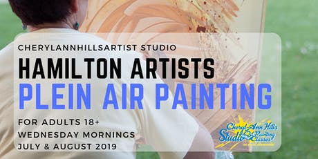 Free Plein Air Painting Group in Hamilton tickets