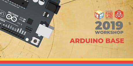 Workshop Arduino Base 17°Edizione biglietti
