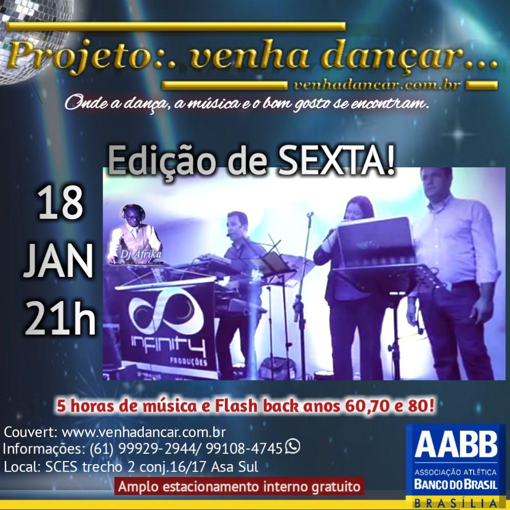 Projeto:.Venha dançar...na AABB