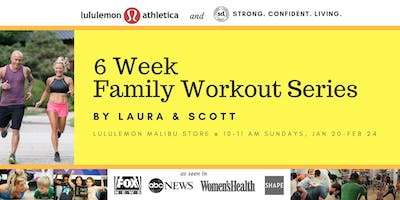FREE Family Workout Series at lululemon