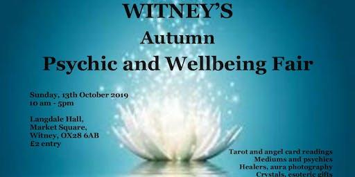 Thirdeye Autumn Psychic & Wellbeing Fayre - Witney