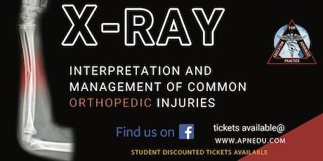 San Antonio X-ray Interpretation and Management of Common Orthopedic Problems tickets